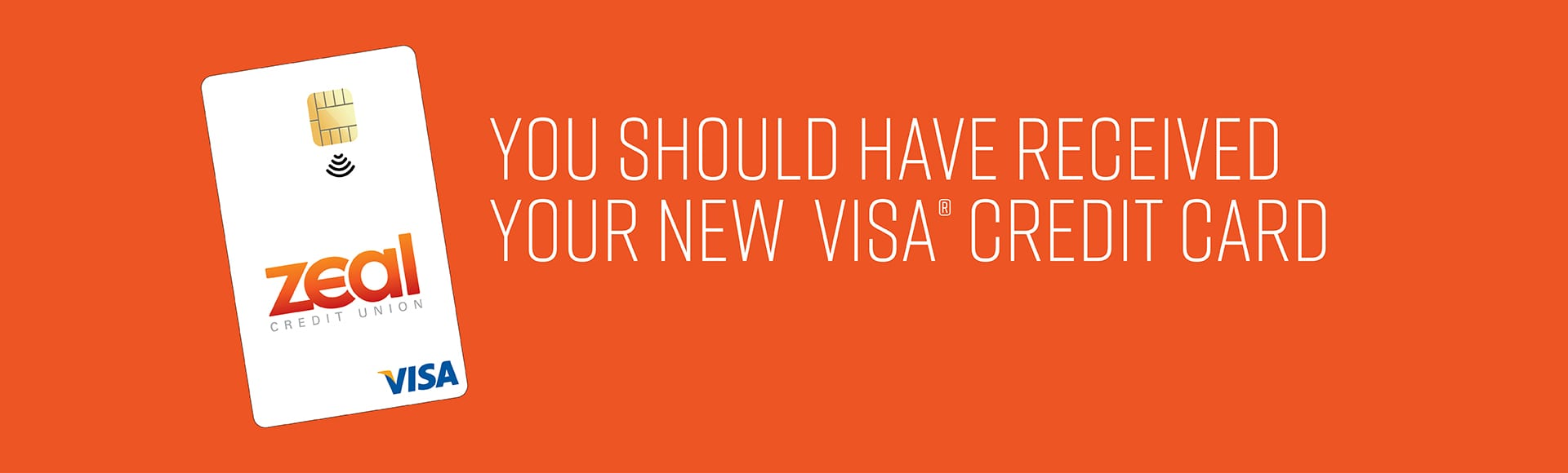 Your New Zeal Visa Credit Card is Here!